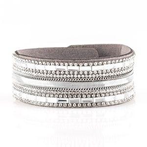 Teasingly Tomboy - Silver Bracelet